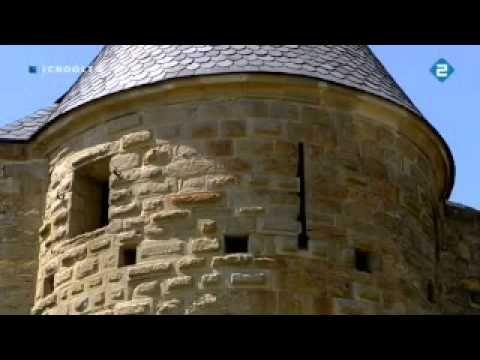 Filmpje over een stad in Frankrijk uit de middeleeuwen en hoe ze toen leefden.