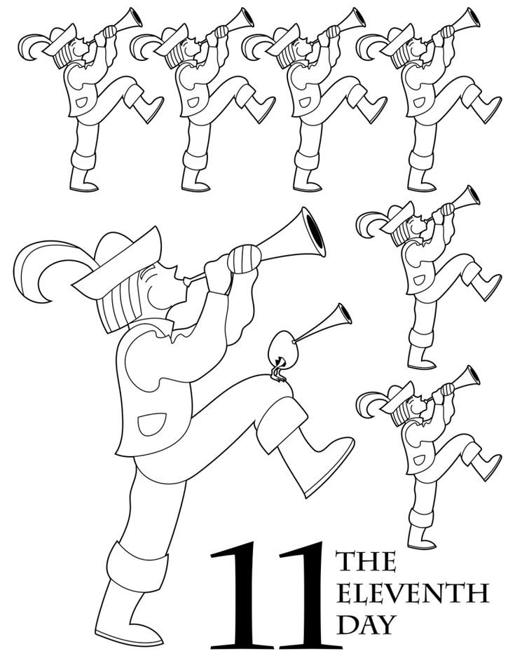 the 12 days of christmas coloring book