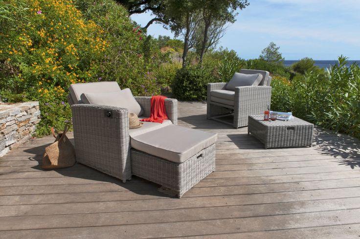 Fauteuil blooma praslin castorama escalier ext rieur d coration outdoor pour jardin - Outdoor leunstoel castorama ...