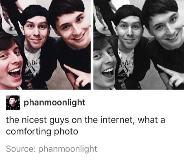 Aw. Thomas, Phil and Dan. This is a photo of the nicest guys on the Internet…