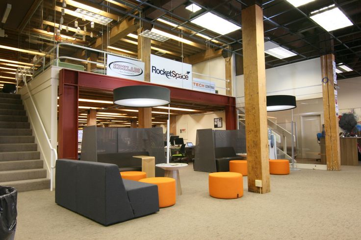 Coworking Office Of Rocketspace Furniture By Turnstone