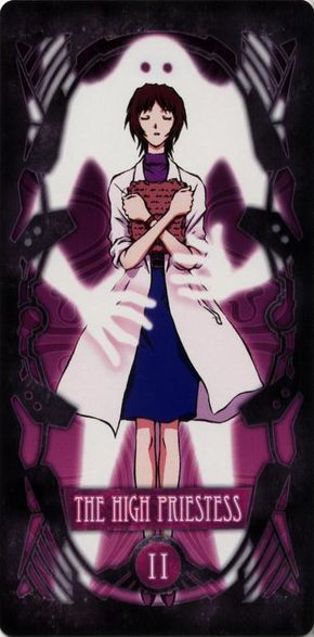 Evangelion - II – The High Priestess – Yui Ikari by Gainax *