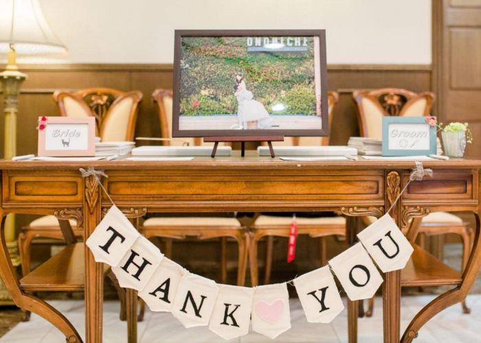 お洒落で可愛い結婚式の受付スペース・ウェルカムスペース飾りまとめ