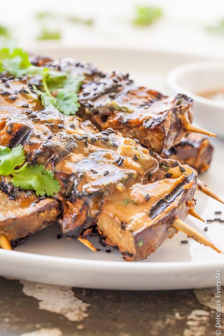 how to make vegetarian satay