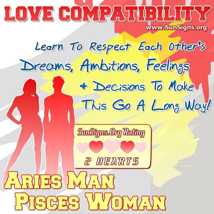 Aries man pisces woman love compatibility gemini woman
