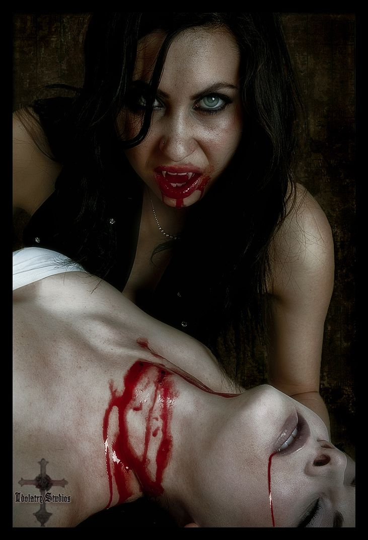 Vampire Girl Bites