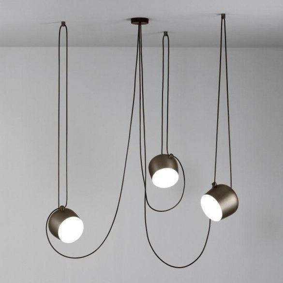 Flos Aim 3 Hanglamp Brons Verlichting Ideeen Hanglamp Huisverlichting