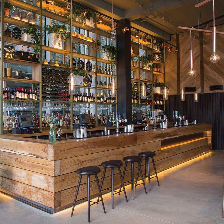 2016 Restaurant U0026 Bar Design Awards Announced,The Refinery (Regent Place,  London, UK) / Fusion DNA . Image Courtesy Of The Restaurant U0026 Bar Design  Awards
