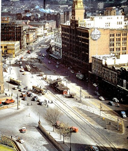 Railway Square 1956.Sydney.. Australia by rangertocpt, via Flickr