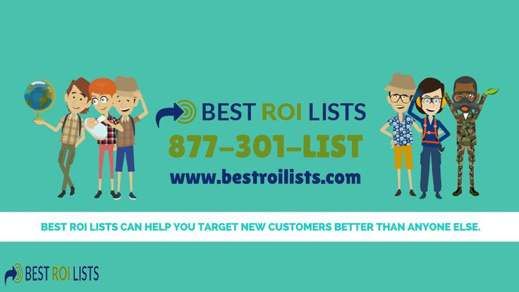 Best ROI Lists - Highly Targeted Email Marketing  #emailmarketing