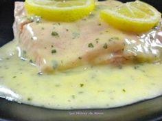 Sauce au citron pour poisson