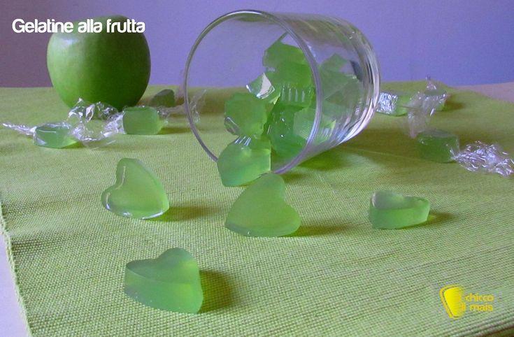 Caramelle gelatine fatte in casa (ricetta facile). Ricetta passo passo per preparare in casa delle caramelle gelee naturali e genuine con succo di frutta