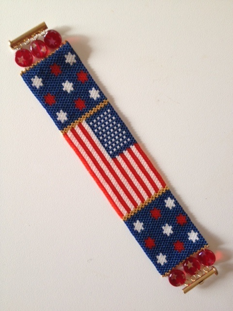 69 best images about peyote stitch on pinterest peyote for Patriotic beaded jewelry patterns