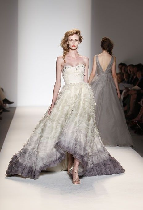 Best gray wedding dress