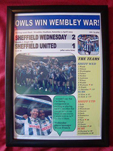 Sheffield Wednesday 2 Sheffield United 1 - 1993 FA Cup semi - framed print Lilywhite Multimedia http://www.amazon.co.uk/dp/B010G74A52/ref=cm_sw_r_pi_dp_iWB0vb1GQ3QKJ