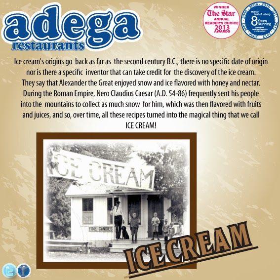 Throwback Thursday - Ice Cream history