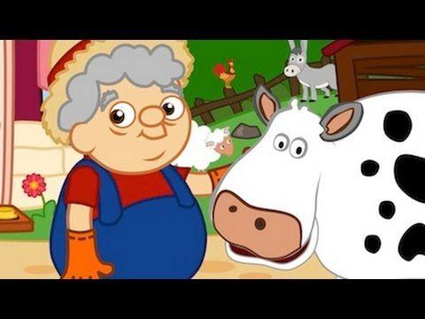 La ferme de Papy Henri - comptine éducative - les animaux de la ferme