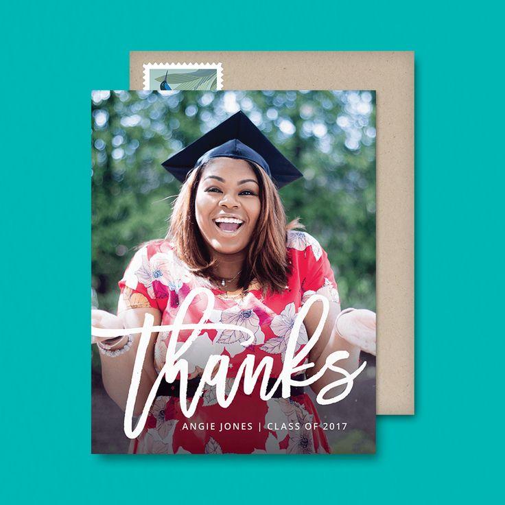 115 best Schools Over images on Pinterest Celebration, Children - graduation thank you notes