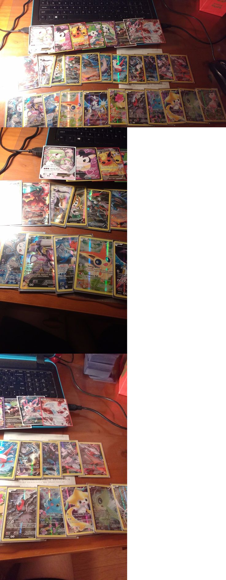 Pok mon Mixed Card Lots 104049: Pokemon Full Art Ex Promo Collection Lot! -> BUY IT NOW ONLY: $75 on eBay!