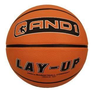 AND1 Lay-Up  — 700 руб.  —  Баскетбольный мяч AND1 Lay-Up. Размер 7, износостойкая резина. Отличный мяч для любительских игр и для тренировок начинающих игроков. Износостойкая резина позволяет использовать мяч для игры на жестких покрытиях, в частности, на улице. Бутиловая камера и глубокие каналы гарантируют высокую прочность и долговечность, а так же превосходный отскок и контроль. Мяч имеет официальный размер 7, и предназначен для использования как в помещении, так и на открытом воздухе.