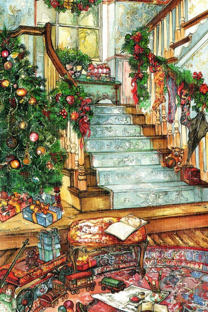 Christmas morning... … | Christmas scenes, Christmas ...