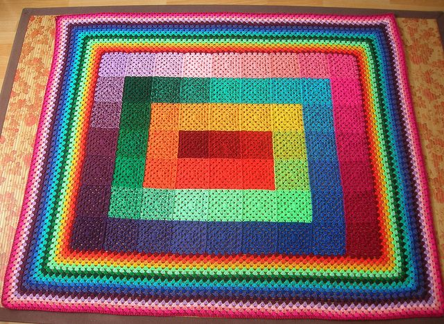 granny square blanket                                                                                                                                                                                 Mehr