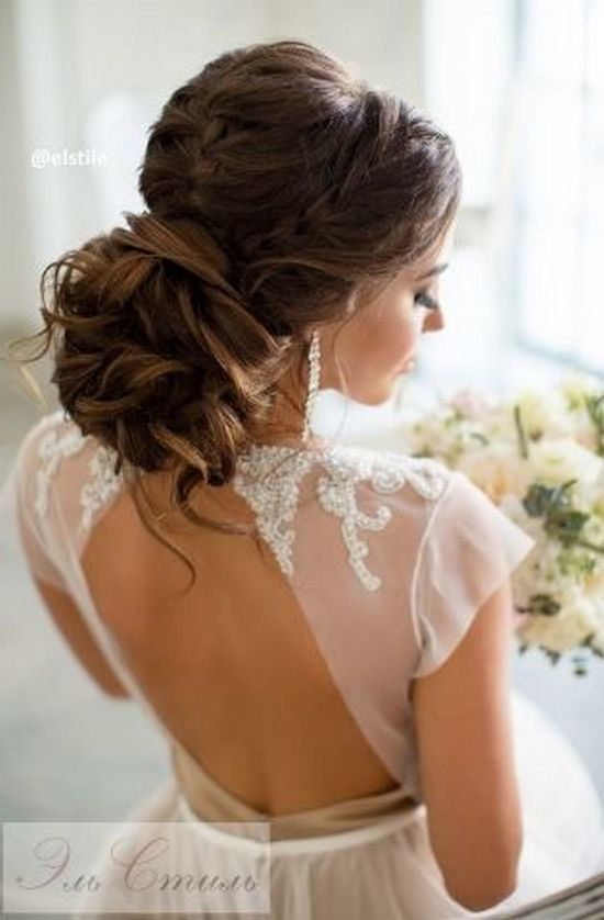 Long Wedding Hairstyles from Elstile / http://www.himisspuff.com/long-wedding-hairstyles-from-elstile/