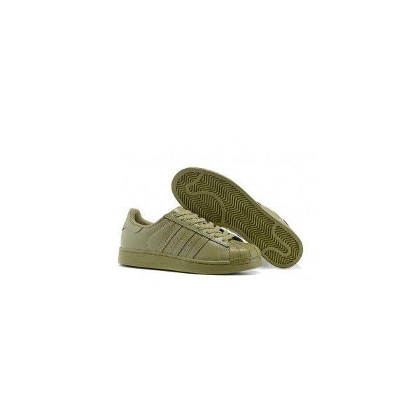Adidas Superstar Army Green