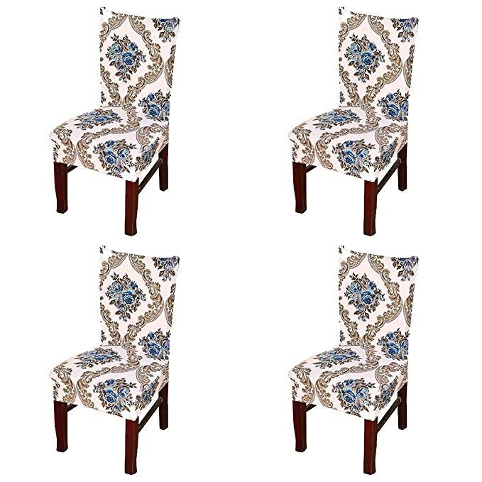 Forcheer Dining Chair Slipcovers Removable Washable Kitchen Chair