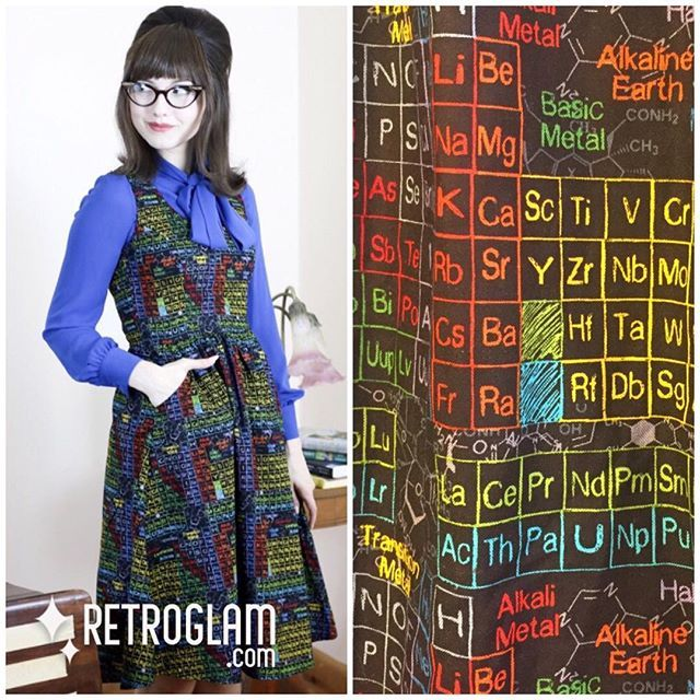 We love science & just got some awesome new items in from Retrolicious including the Elements Dress! See them in our new arrivals..also a few more prints to come online too including cats & dragons!