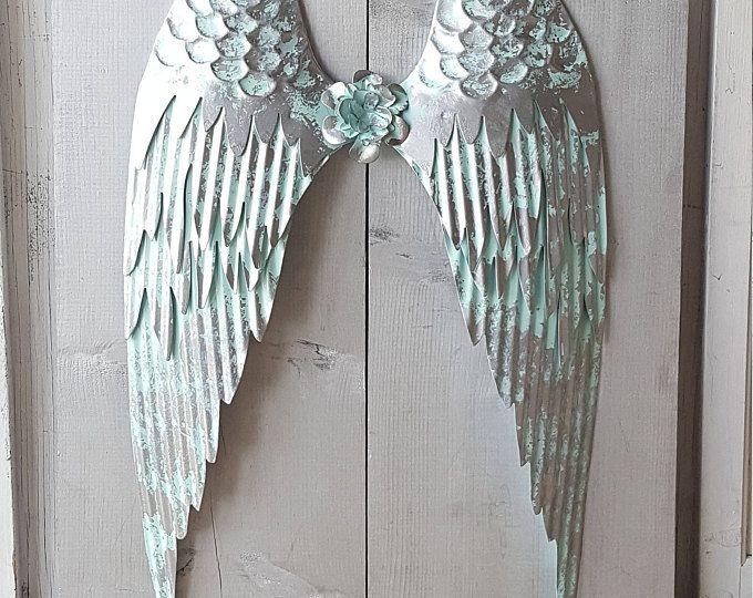 Metal Angel Wings Wall Decor angel wings wall decor hakkında pinterest'teki en iyi 20+ fikir