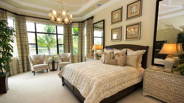 The Chantilly Model Home - Master Bedroom Elegant Neutral ... on New Model Bedroom Design  id=87968