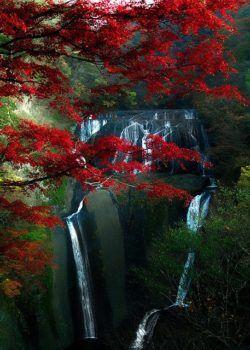JUKURODA Falls, Ibaraki, Japonia