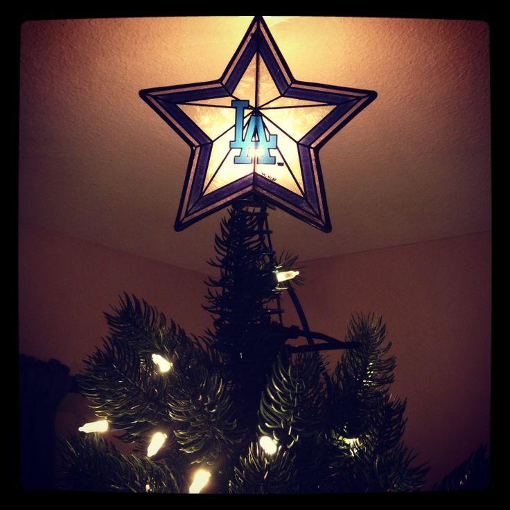 35 best Dodger Christmas  tree 2014 images on Pinterest