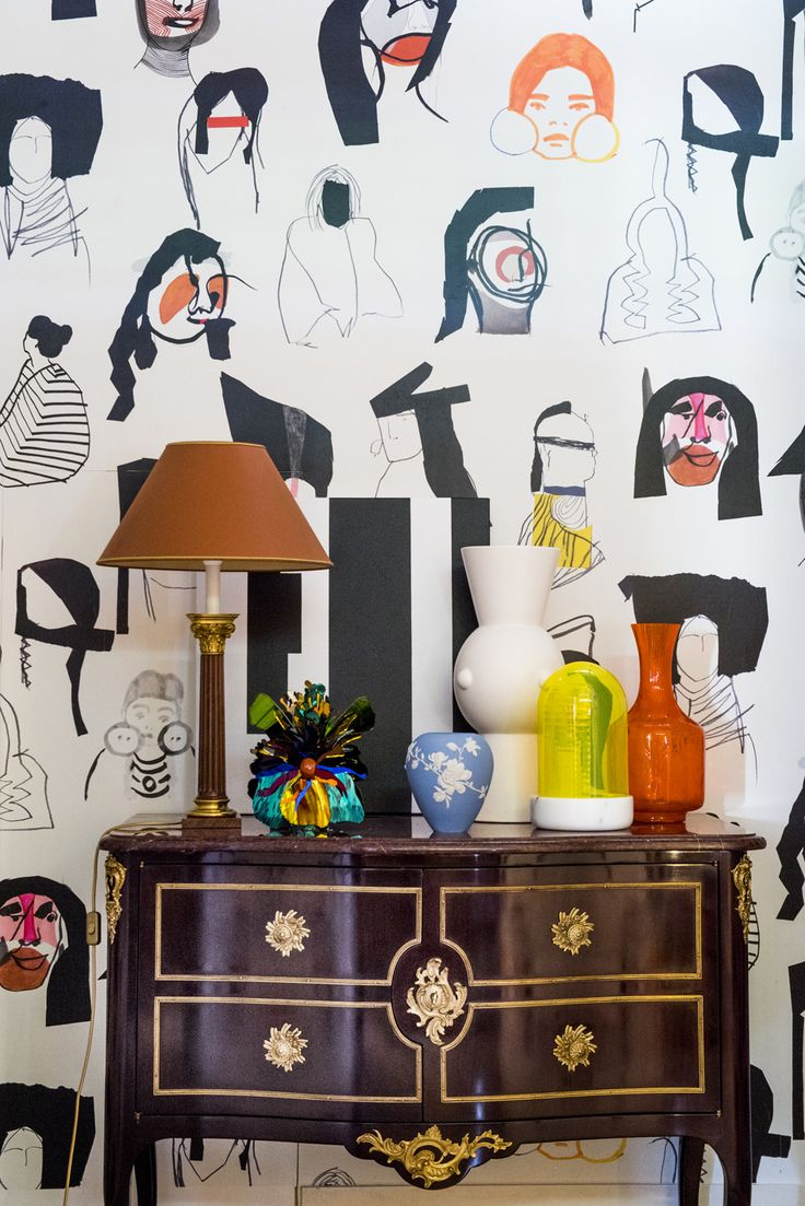 """PARIS DECO OFF 2018 / Decor with our new """"Arapahos"""" and """"Grand Canyon"""" collections by Pierre Frey. ©Anne-Emmanuelle Thion ©Pierre Frey. / To see more about """"Arapahos"""" and """"Grand Canyon"""" collections : http://magazine.pierrefrey.com/?p=9446&lang=en"""