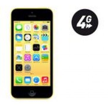 Iphone 5c 16GB Yellow The iPhone 5c boasts the smooth lines that are synonymous with Apple products. The metal frame makes it highly resistant to anything life throws at it, and there are five colourful plastic shells available to suit your style for £53.04