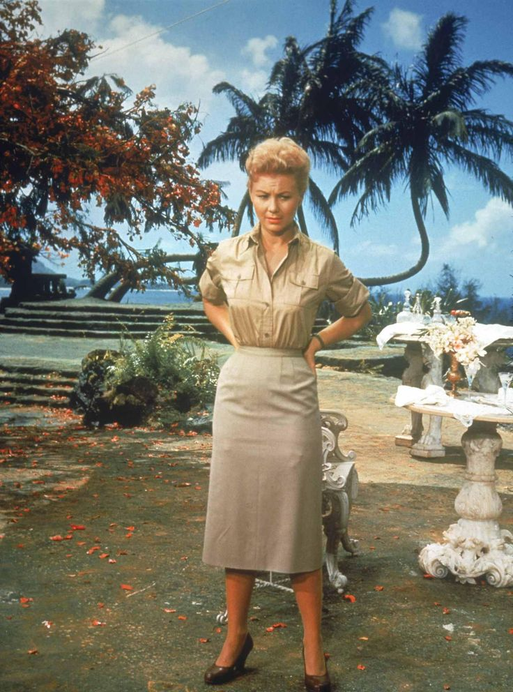 Still of Mitzi Gaynor in South Pacific
