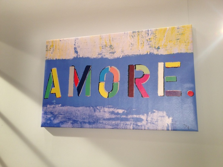 Giada De Laurentiis Has This Painting In Her Kitchen By