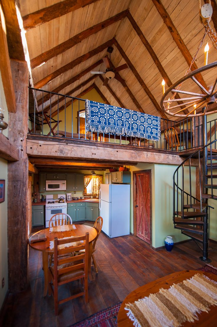 Log cabin loft bedroom   best Ideas for my tiny house images on Pinterest  Dreams
