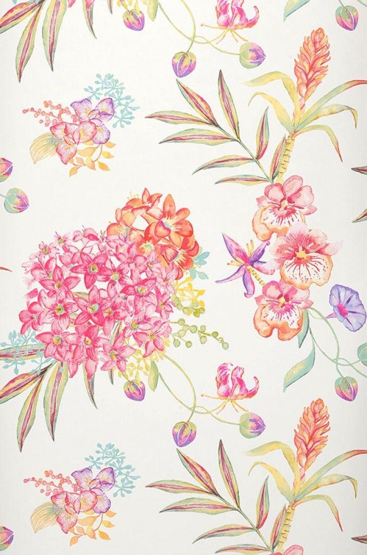 Carta da parati fiori  Altre carte da parati  Carta da parati ...