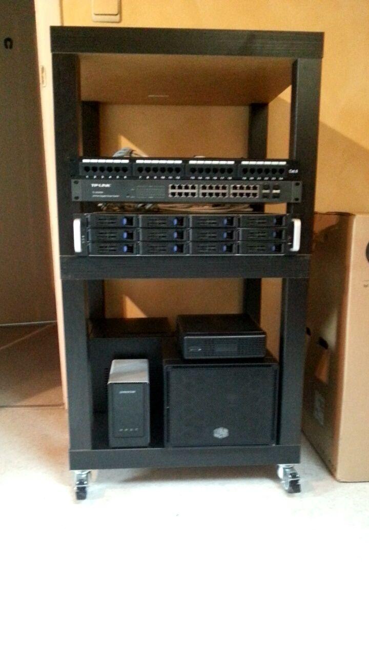 15 best server racks images on pinterest server rack for Ikea rack mount