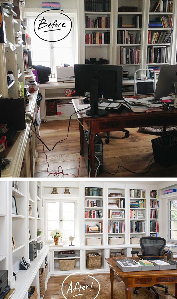 Marvelous Home Office Overhaul With Products From The Container Store!