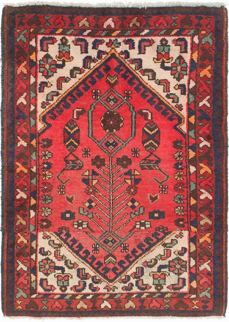 Red 3 X 4 7 Hamedan Persian Rug Rugs Erugs