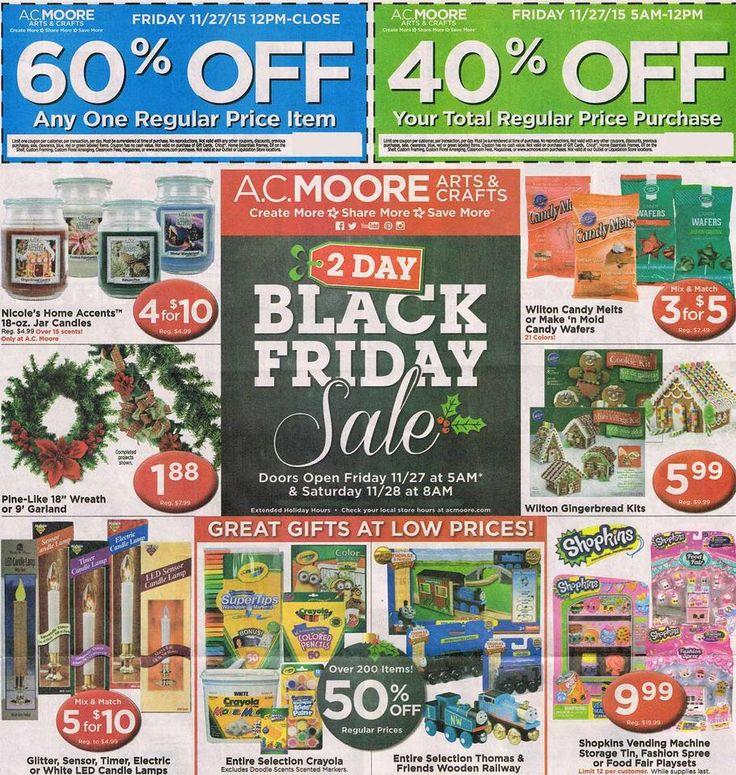 AC Moore Black Friday 2015 Ad, Deals & Sales https://www.blackfriday.fm/adscan/ac-moore