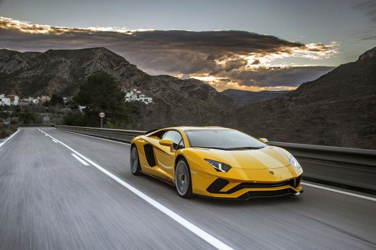 Lamborghini Aventador S Coupe - check out this fantastic 2017 super car and its technical specifications