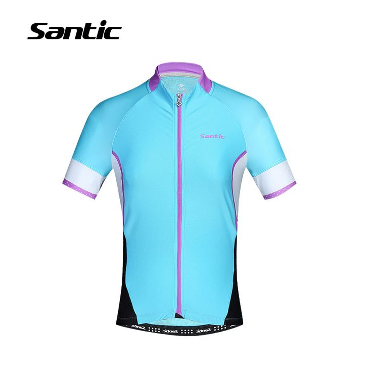 ==> [Free Shipping] Buy Best Santic Cycling Jersey Women 2017 Blue N-FEEL Anti-Sweat UV Protect Downhill DH MTB Bike Jersey Top Clothing Tour De France Shirt Online with LOWEST Price | 32690909298