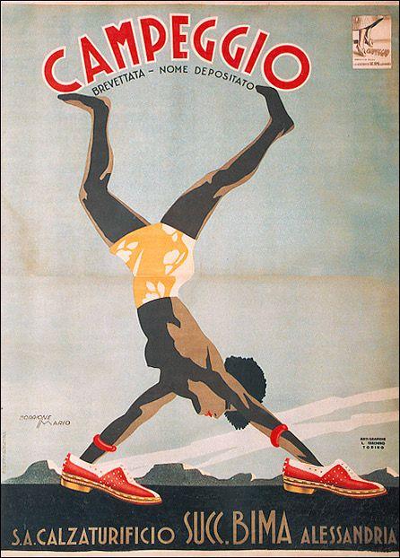 ✔️ Campeggio - Calzaturificio Bima Alessandria by Mario Borrione 1937