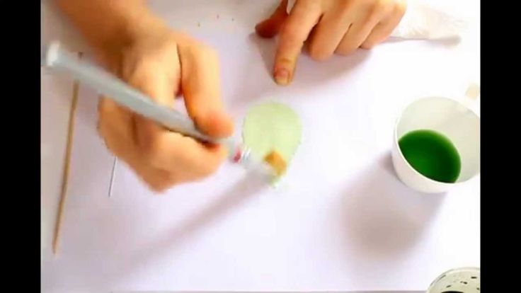 Complete video tutorial in japanese somebana technique - coloring silk l...