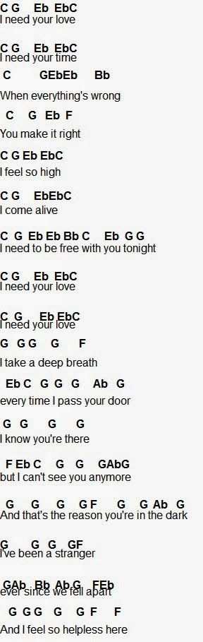 Flute Sheet Music: I Need Your Love
