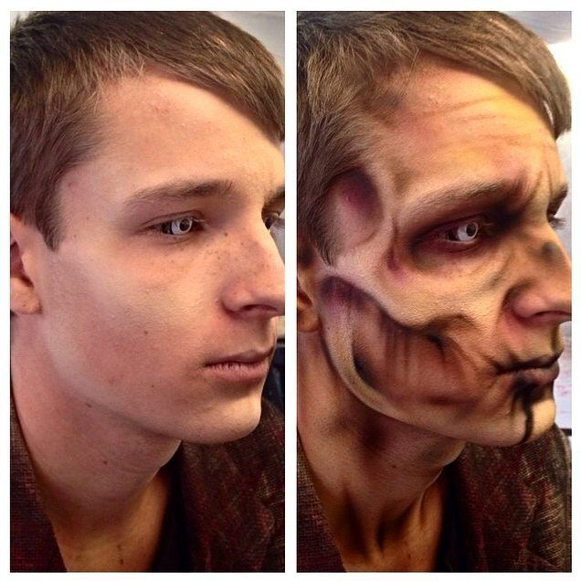 Zombie Make up Face Painting